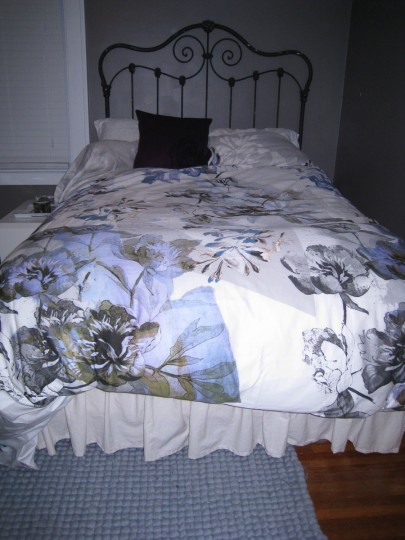 Anthropologie Fragmented Flowers Duvet.