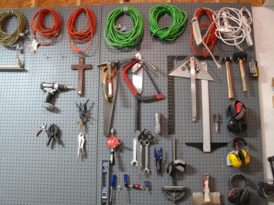 Pegboard action.