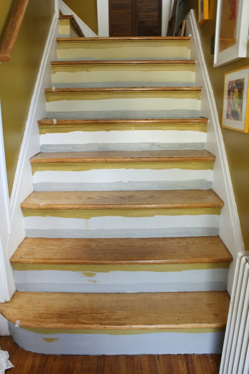 Pin Painted Stairs On Pinterest