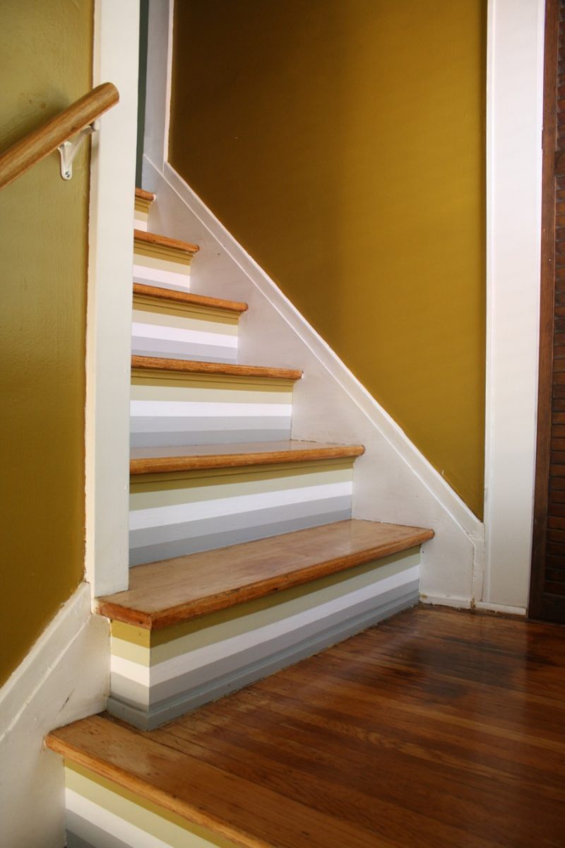 Painting stripes on walls ideas joy studio design - Ideas for painting stairs ...