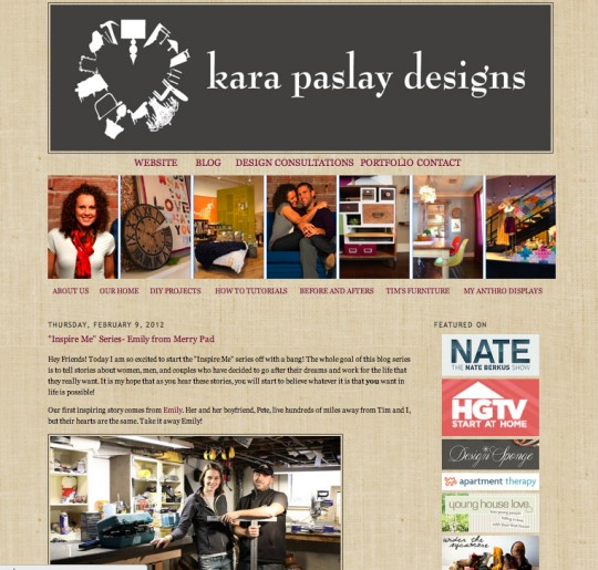 Guest Post at Kara Paslay Designs