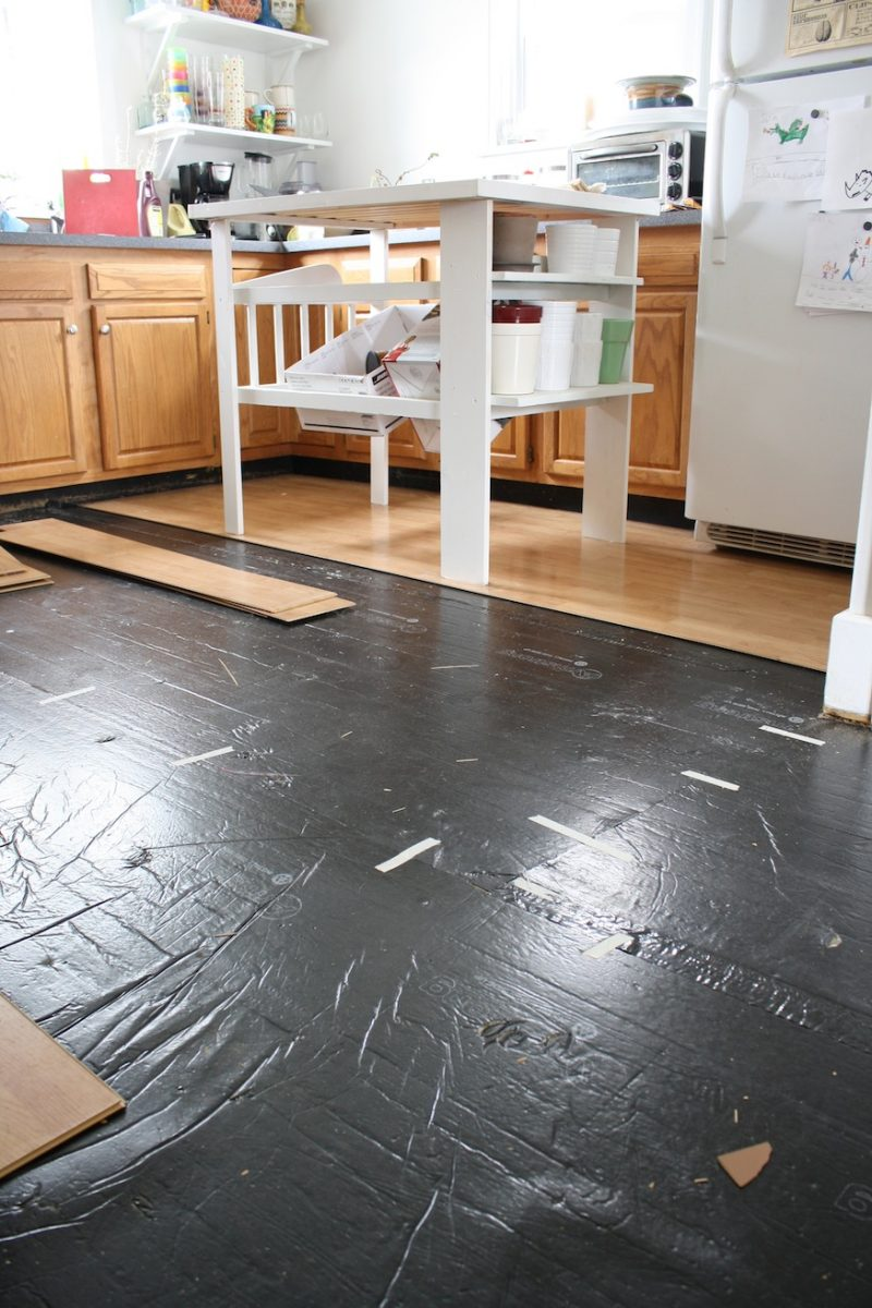 Removing pergo like laminate flooring merrypad for Kitchen laminate flooring