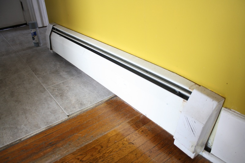 diy baseboard heating update merrypad
