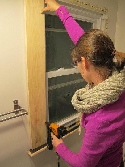 DIY Network: Emily does window trim. With ease.