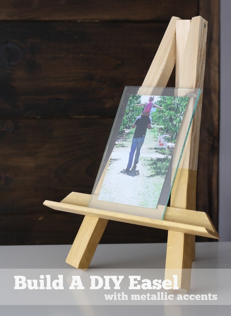 How To Make A Wood Tripod Easel