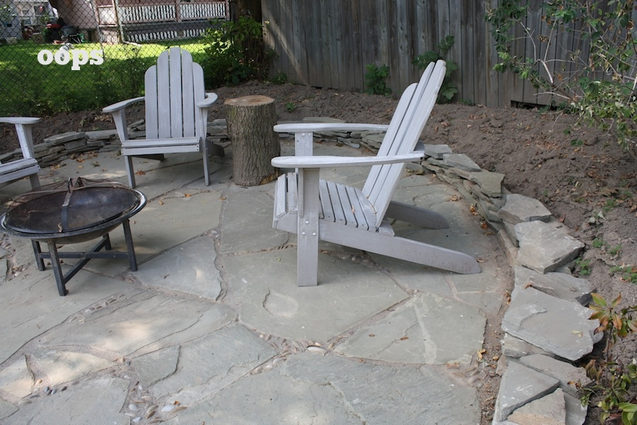 Build Flagstone Garden Edging