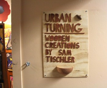 Urban Turning by Sam Tischler.