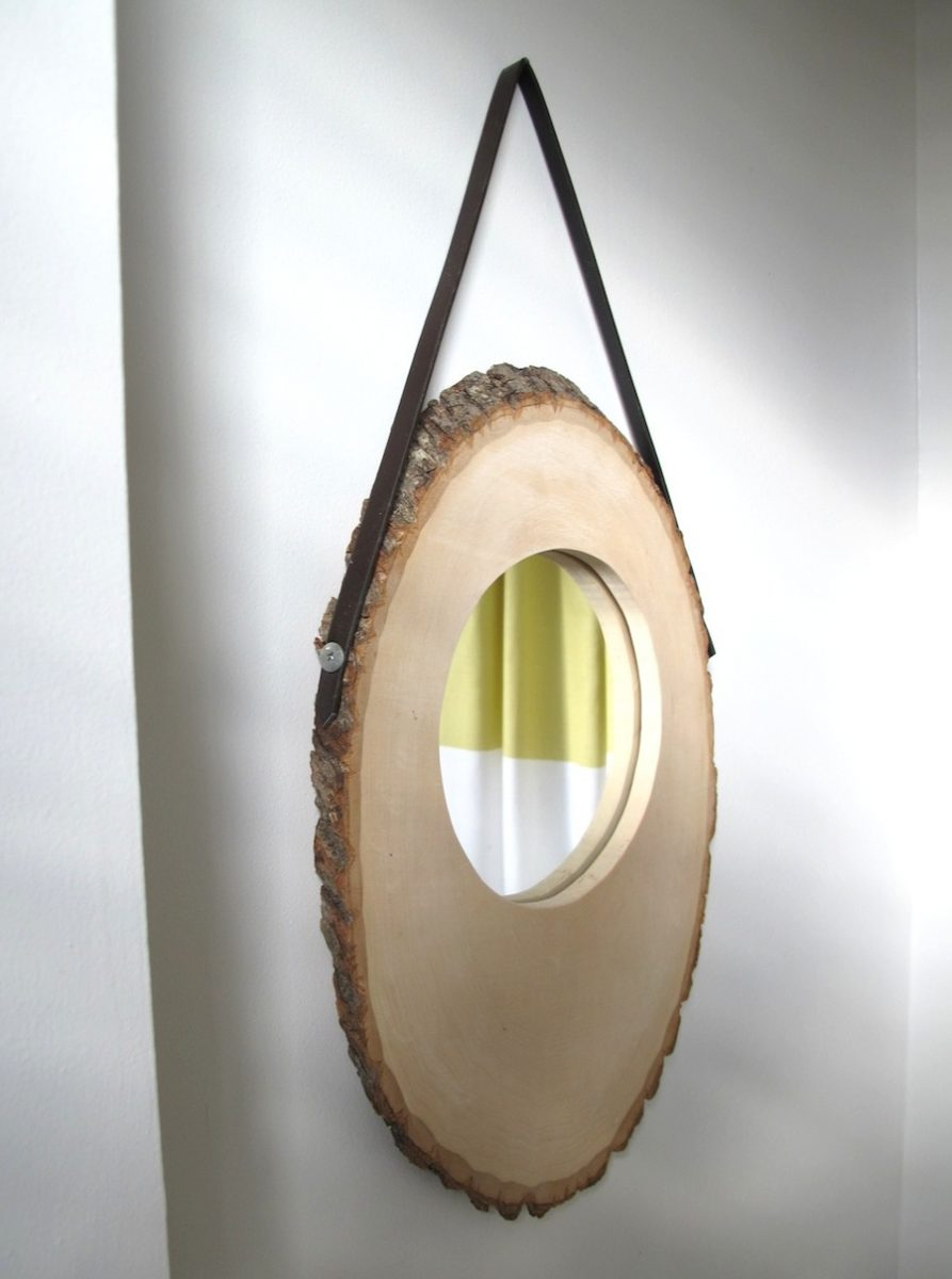 Anthropologie inspired basswood mirror merrypad for Wooden mirror frames for crafts