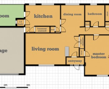 Our new house floor plan!