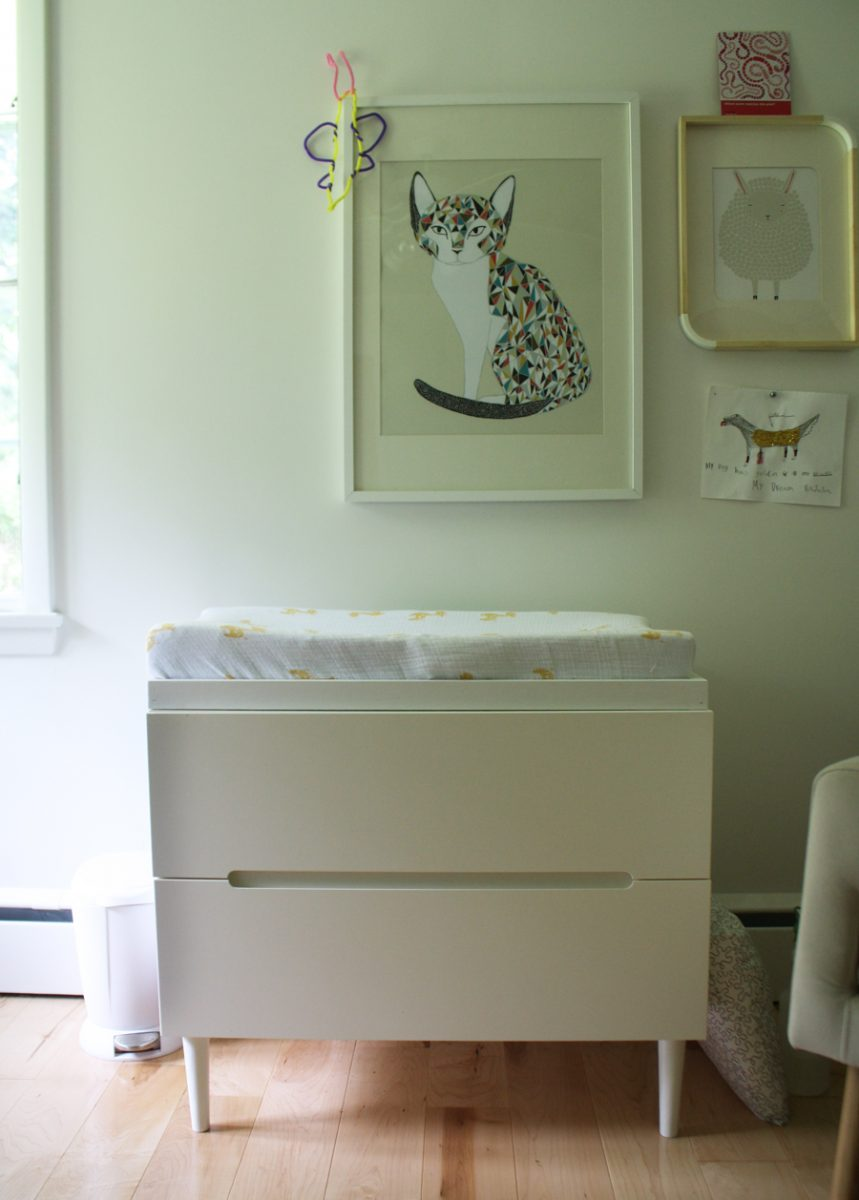 Ikea Waschtisch Unterschrank ~ Updating our IKEA SVEIO as a baby changing table