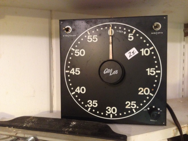 A cool darkroom timer that I wish I bought.