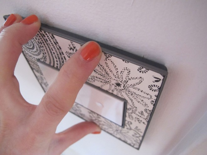 How to install a wall plate from the custom Legrand Adorne collection.