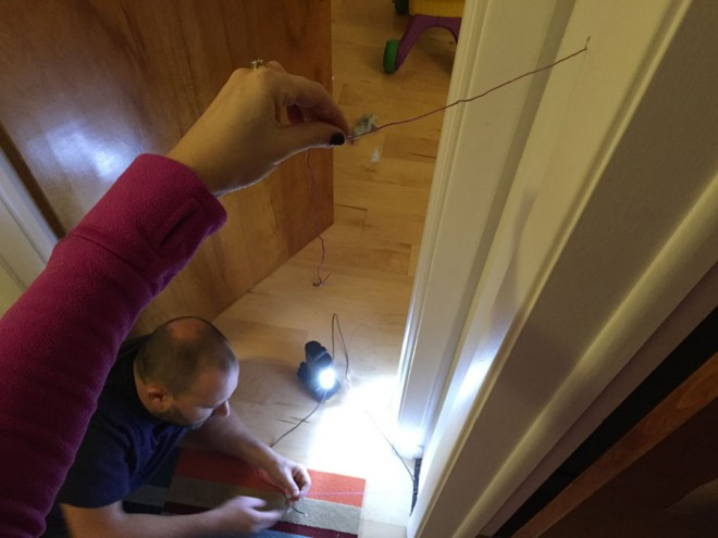 How to relocate a thermostat, stat.