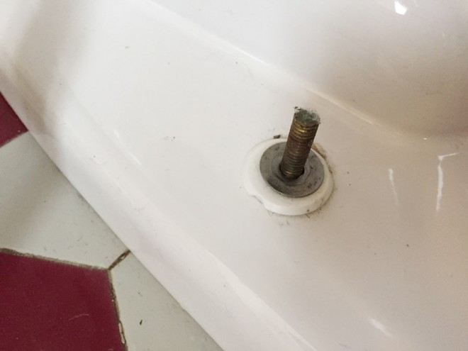 How to remove a toilet.