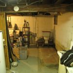 Basement corner opened! No more walls, no more sink.