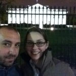 Oh hey, it's Pete + I at the White House.