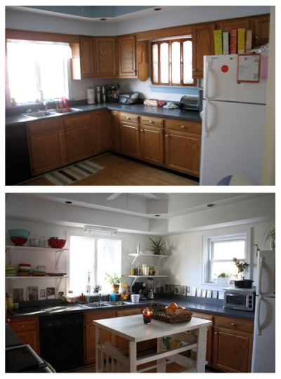 Kitchen: Before + After
