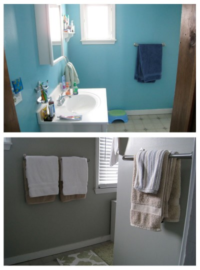 Bathroom: Before + After