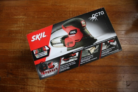 Hi there, Skil OCTO power sander.