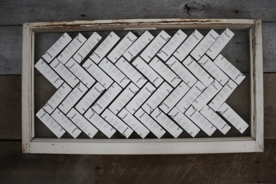 A first attempt at making the herringbone pattern in the allowable space.