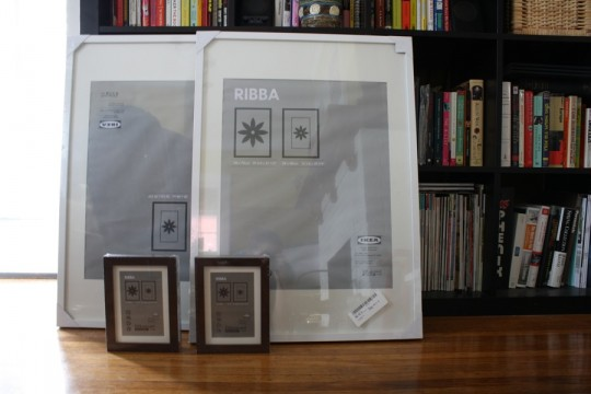 Because a girl can't have enough RIBBA frames. It's a sickness.