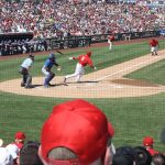 Oh, and I took photos of Pujols batting too. No homers, two outs. Zing.