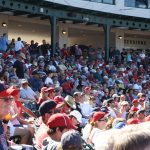 Packed in like sardines at Tempe Diablo Stadium.