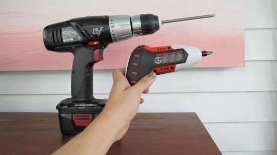 The Black & Decker Gyro screwdriver eyes up the competition.