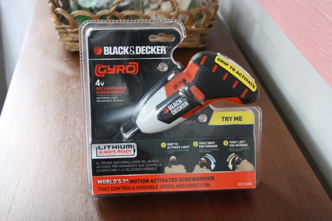 Review of a Black & Decker Gyro screwdriver.