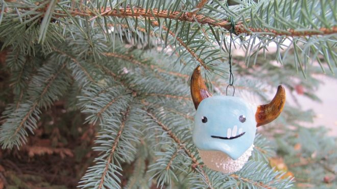 Quick tip for securing your fragile ornaments on the tree this holiday season.