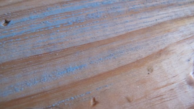 Weather-resistant stains tend to bead up over wood conditioner. Lesson learned!