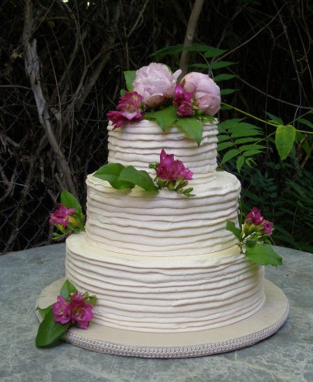 The inspiration for our gorgeous wedding cake.