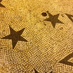 Basalt Mosaic Sidewalks in the Azores.
