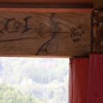 "Picnicing areas inside the mirodouros on the island were really the only place we saw ""vandalism"". And we contributed."