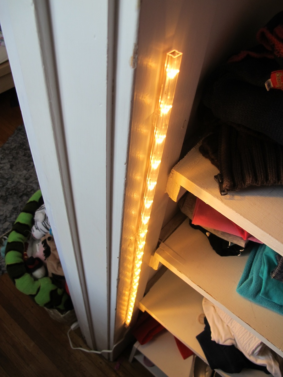 A 15 Closet Lighting Solution Merrypad